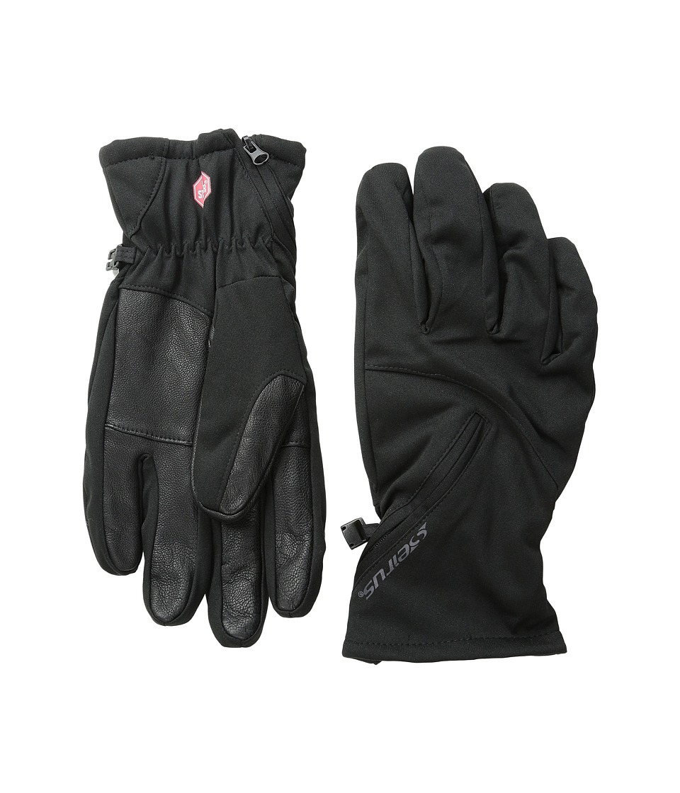 Seirus - Cyclone Glove (Black) Ski Gloves