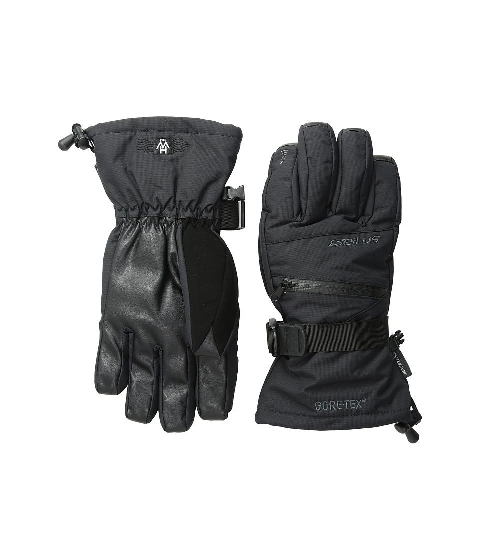 Seirus Heatwave Gore-Tex(r) Plus Gleam Glove (Black) Ski Gloves