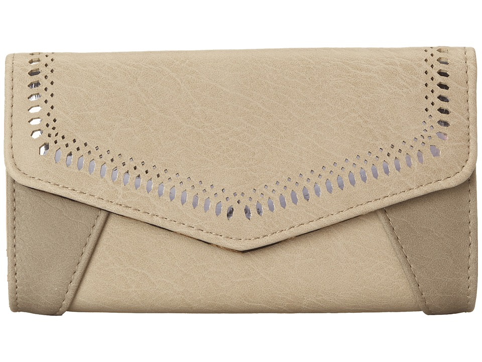 Jessica Simpson - Hazel Med Clutch (Dove Grey/Stone) Clutch Handbags