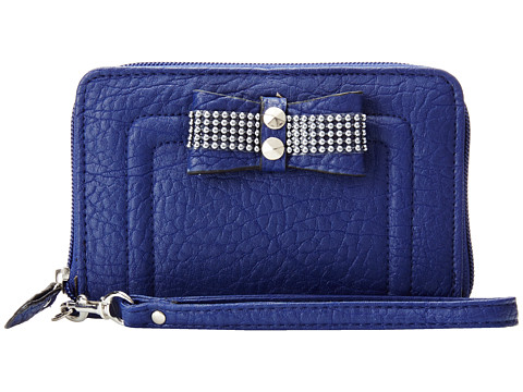 Jessica Simpson - Evonne Za Expander (Midnight Blue) Wallet Handbags