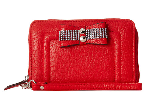 Jessica Simpson - Evonne Za Expander (Crimson) Wallet Handbags