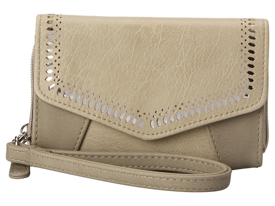 Jessica Simpson - Hazel Indexer Wristlet (Dove Grey/Stone) Wristlet Handbags