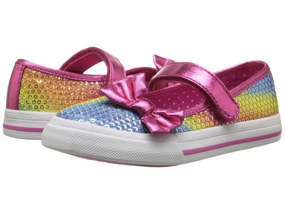 Nina Kids - Azura (Toddler/Little Kid) (Rainbow Sequins) Girl's Shoes