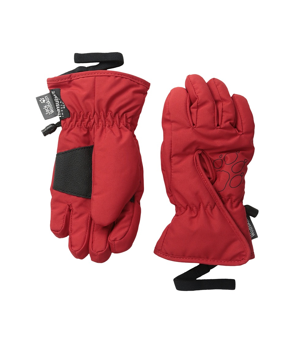 Jack Wolfskin - Easy Entry Glove (Little Kid/Big Kid) (Indian Red) Extreme Cold Weather Gloves