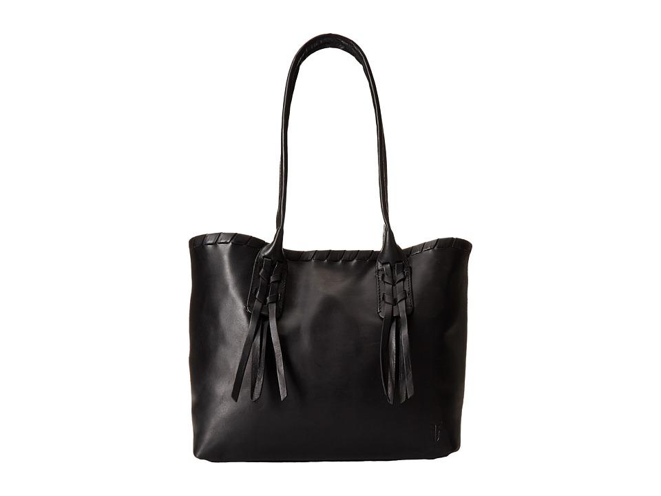 Frye - Layla Concho Shopper (Black Smooth Full Grain) Tote Handbags