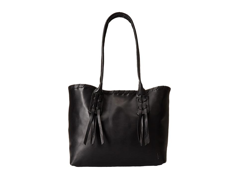 Frye - Layla Concho Shopper (Black Smooth Full Grain) Tote Handbags