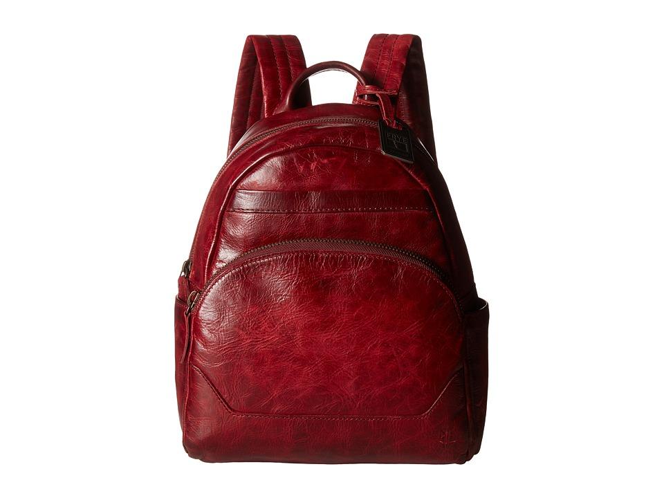 Frye - Melissa Backpack (Burgundy Antique Pull Up) Backpack Bags