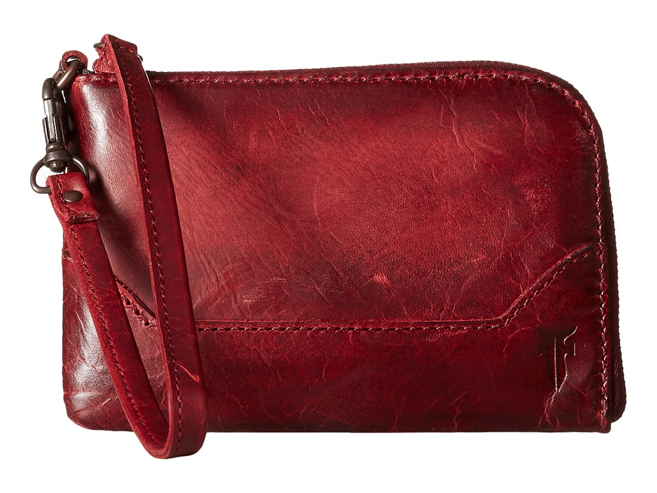 Frye - Melissa Wristlet (Burgundy Antique Pull Up) Wristlet Handbags