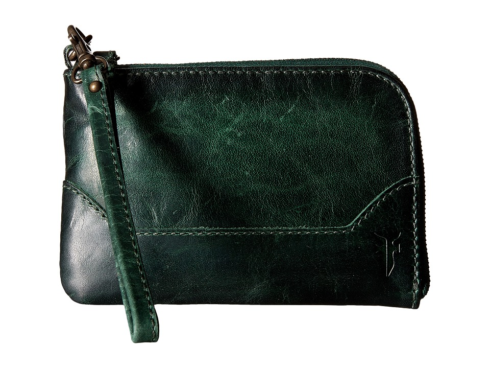 Frye - Melissa Wristlet (Forest Antique Pull Up) Wristlet Handbags