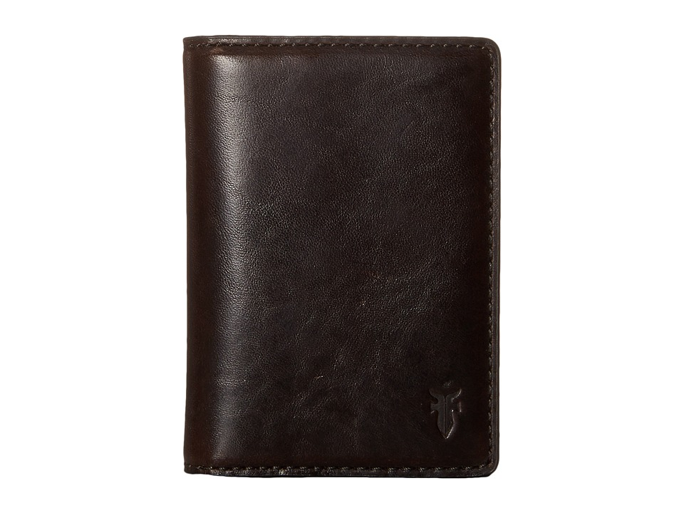 Frye - David Bi-Fold (Espresso Smooth Pull Up) Bi-fold Wallet