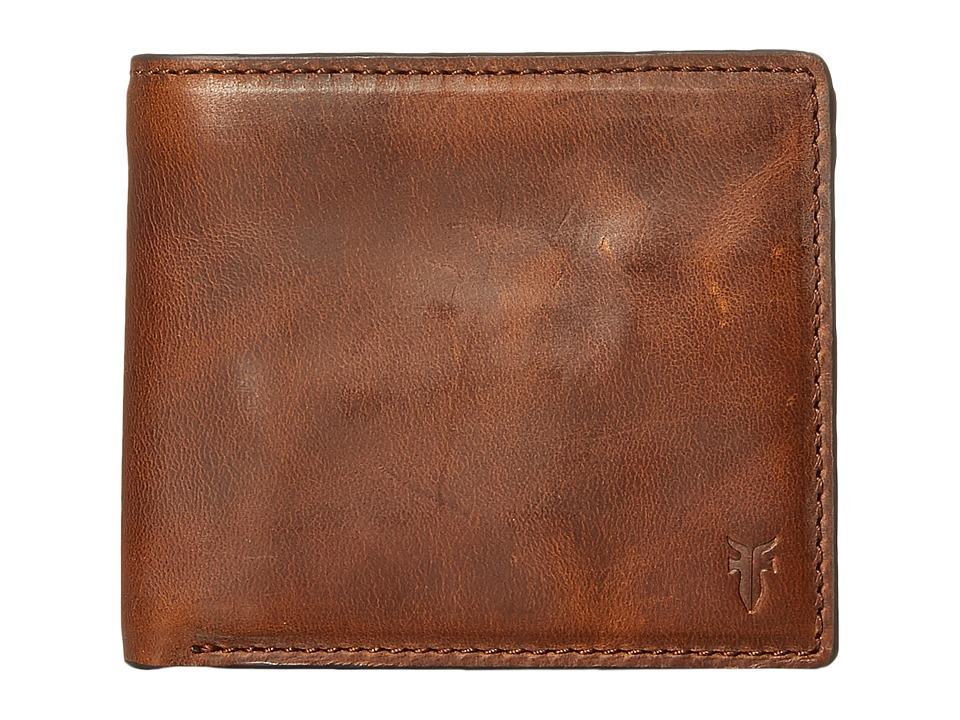 Frye - David Double Billfold (Whiskey Smooth Pull Up) Bill-fold Wallet