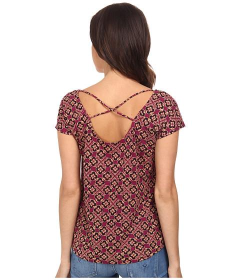 Lucky Brand - Inna Kuta Top (Purple Multi) Women's Clothing
