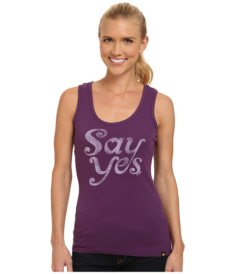 Life is good - Sleeper Tank Top (Smoky Plum) Women's Sleeveless