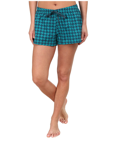 Life is good - Sleep Boxer (Teal Blue) Women