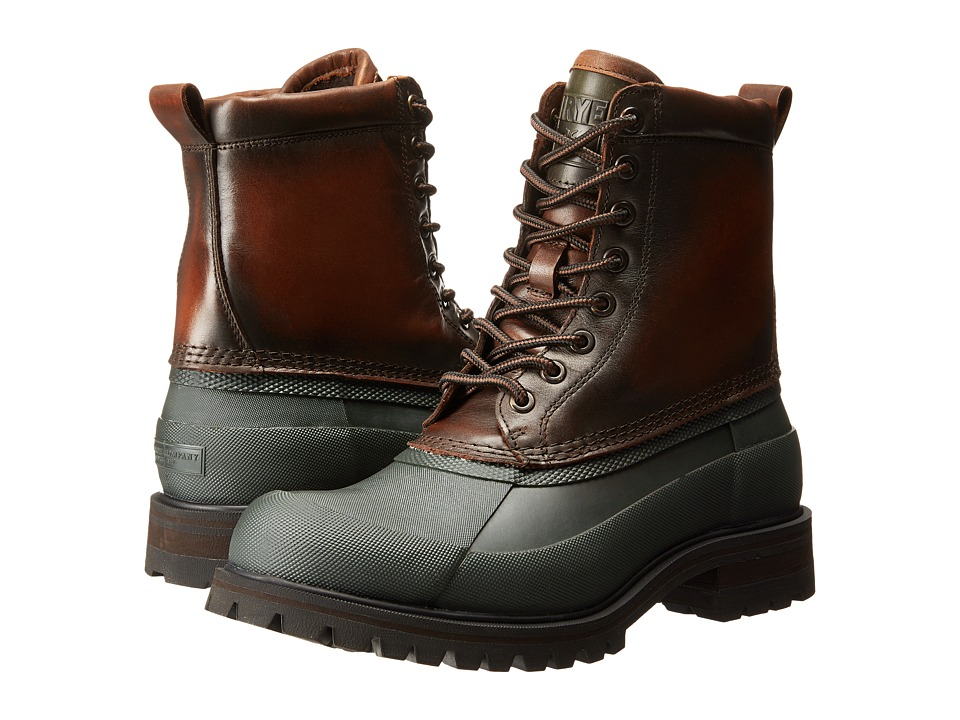 Frye - Alaska Lace Up (Forest Multi WP Smooth Pull Up) Men's Lace-up Boots