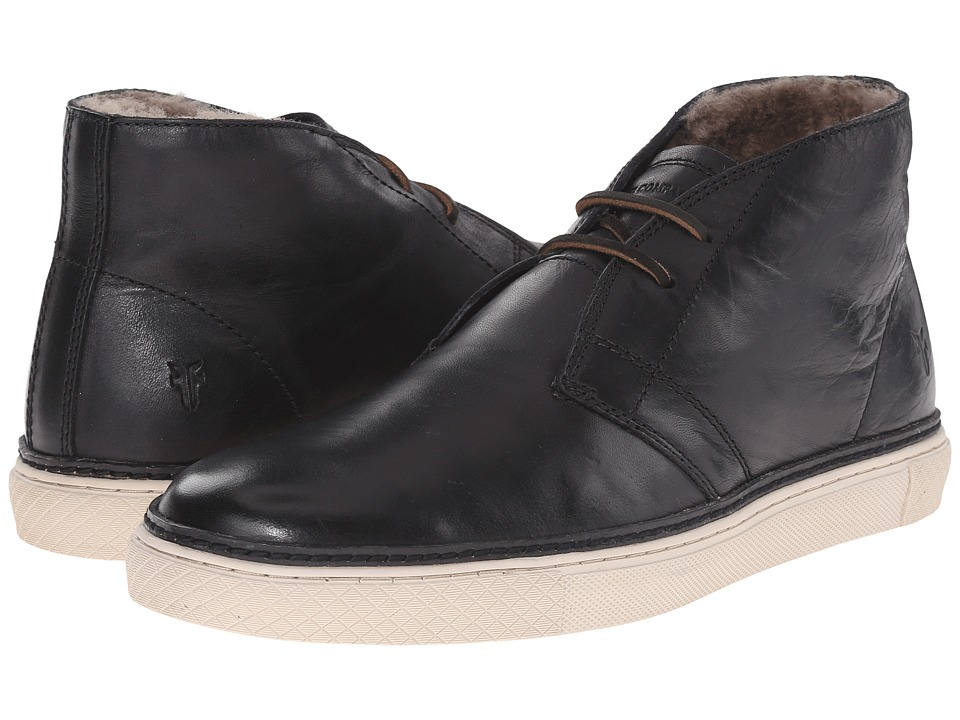 Frye Gates Chukka (Black Antique Pull Up) Men