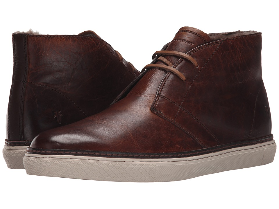 Frye - Gates Chukka (Cognac Antique Pull Up) Men's Lace-up Boots