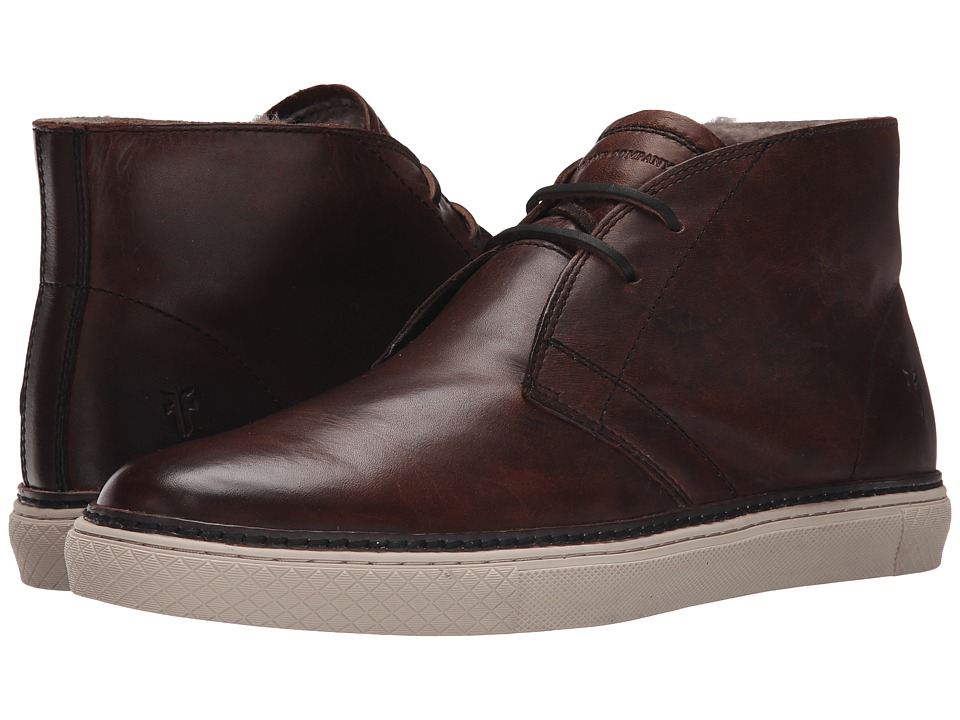 Frye - Gates Chukka (Dark Brown Antique Pull Up) Men's Lace-up Boots
