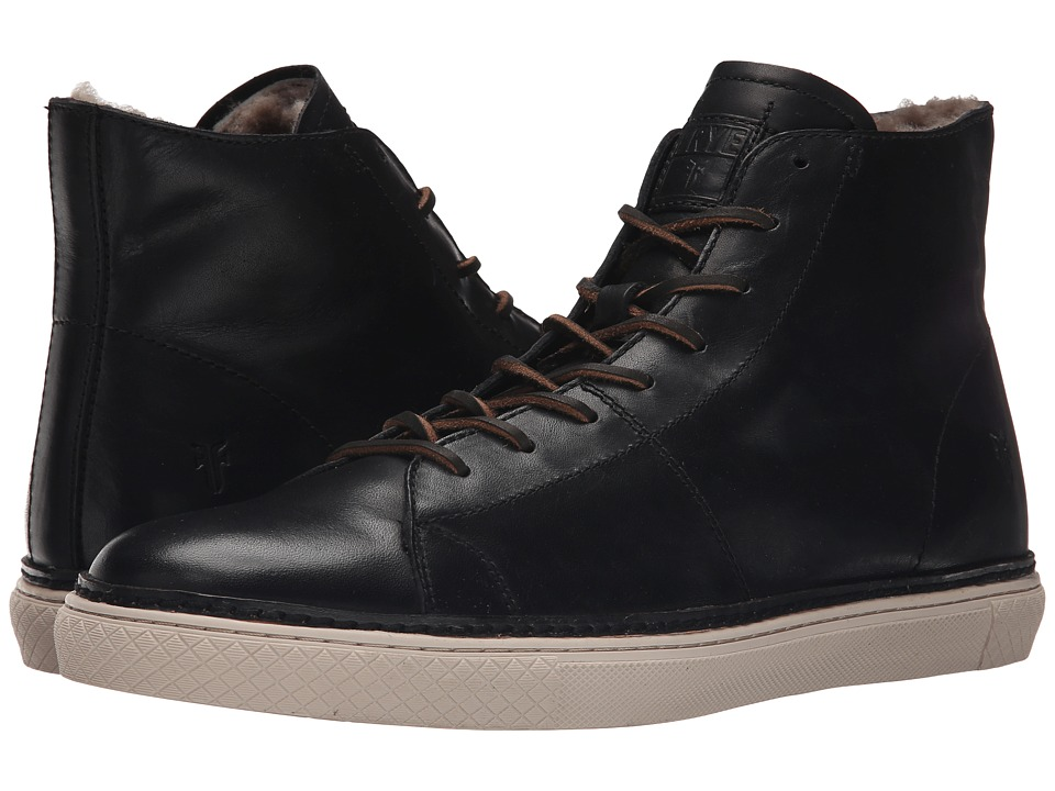 Frye - Gates High (Black Antique Pull Up) Men's Lace up casual Shoes