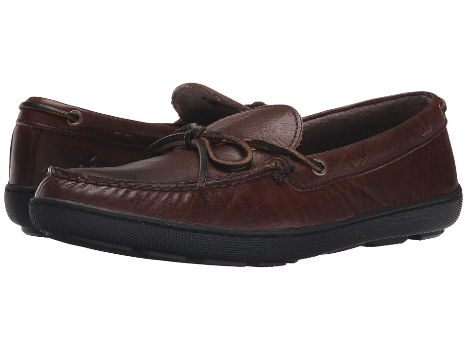 Frye - Hugh Tie (Dark Brown Oiled Vintage) Men's Lace up casual Shoes