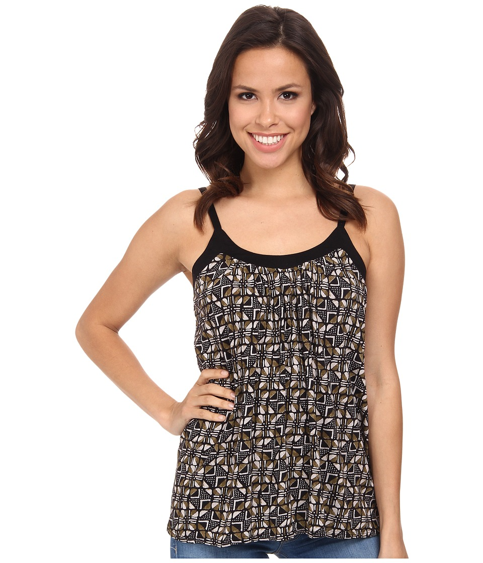 Lucky Brand - African Check Tank Top (Multi) Women