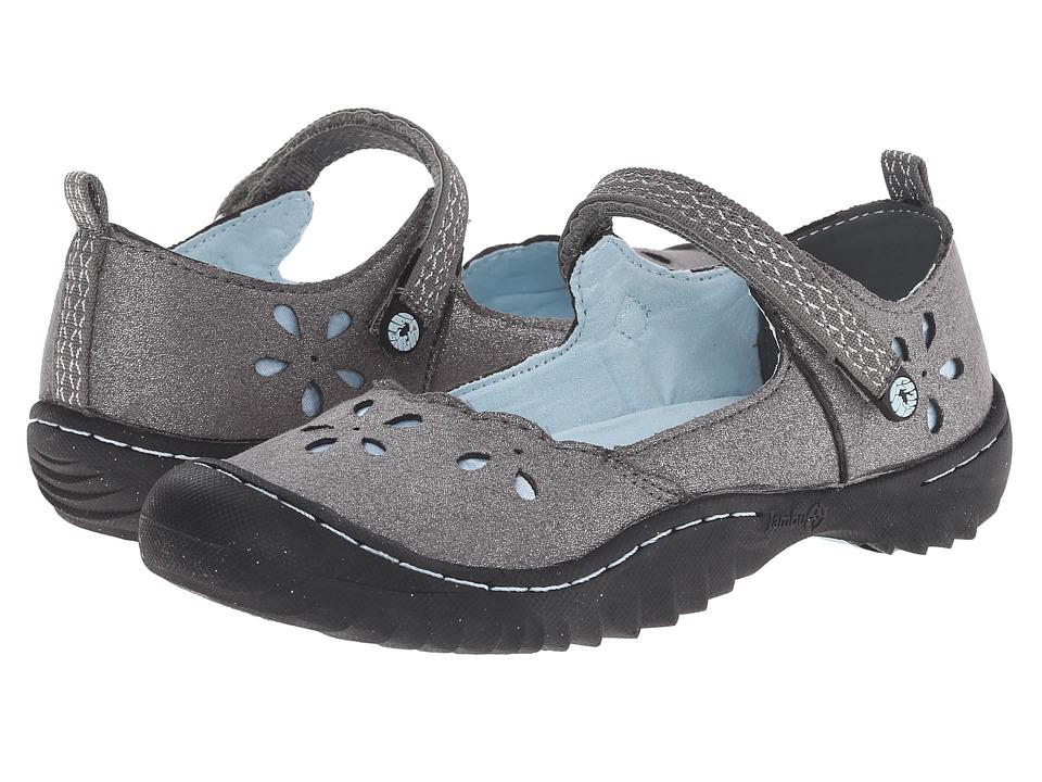 Jambu Kids - Greenwich 3 (Toddler/Little Kid/Big Kid) (Silver/Light Blue) Girl's Shoes