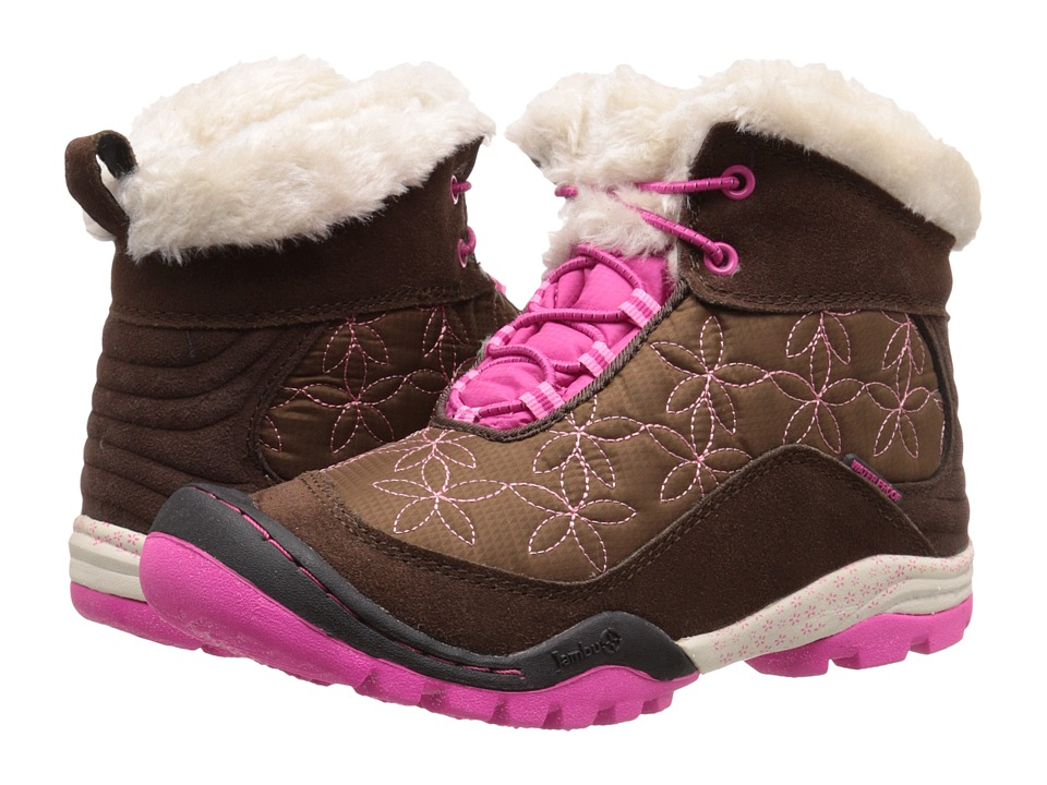 Jambu Kids - Magnolia (Toddler/Little Kid/Big Kid) (Brown/Fuchsia) Girls Shoes