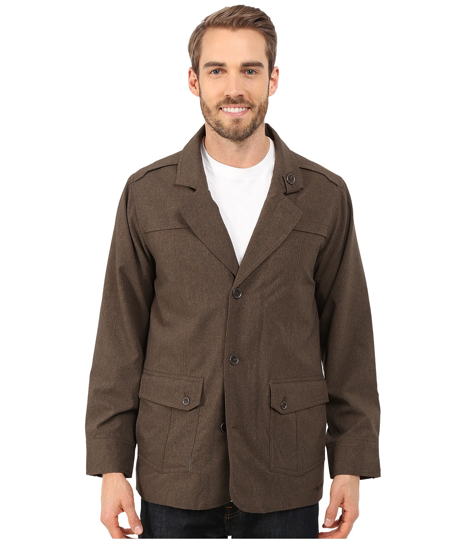 ExOfficio - Ometto Blazer (Cigar Heather) Men's Coat