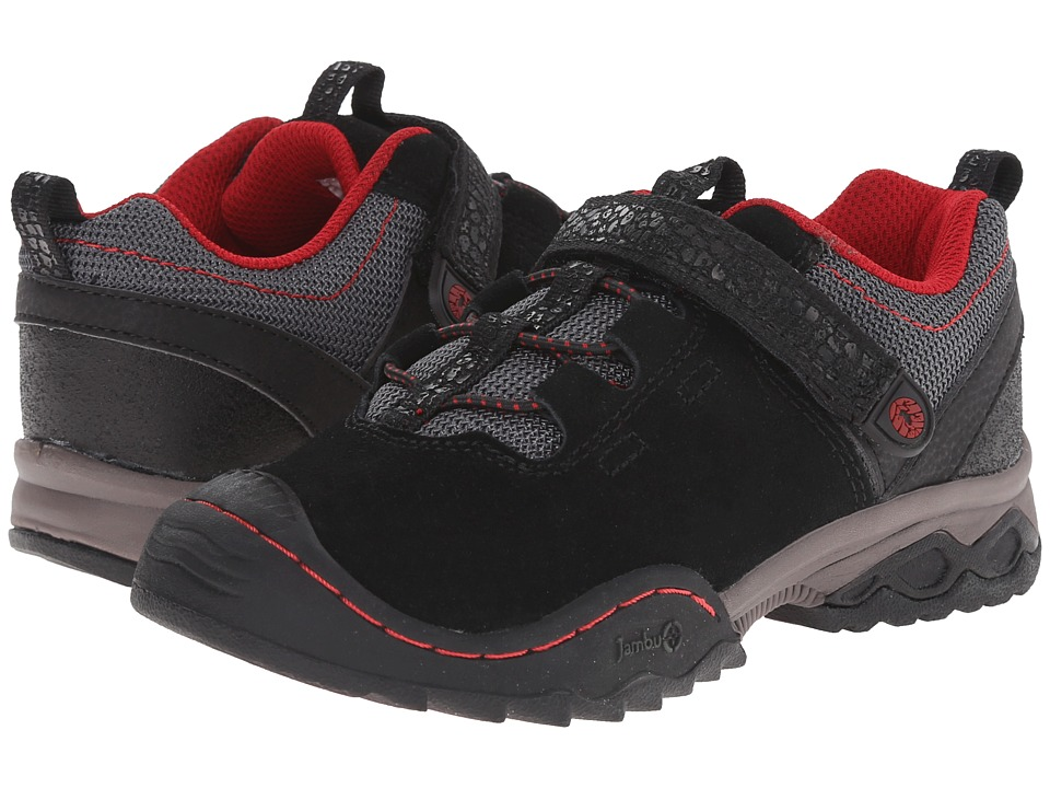 Jambu Kids - Serpent (Toddler/Little Kid/Big Kid) (Black/Red) Boys Shoes