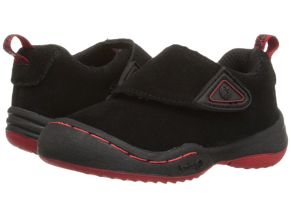 Jambu Kids - Condor (Toddler) (Black/Red) Boys Shoes