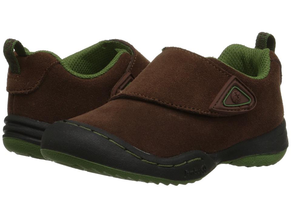 Jambu Kids - Condor (Toddler) (Brown/Neon) Boys Shoes