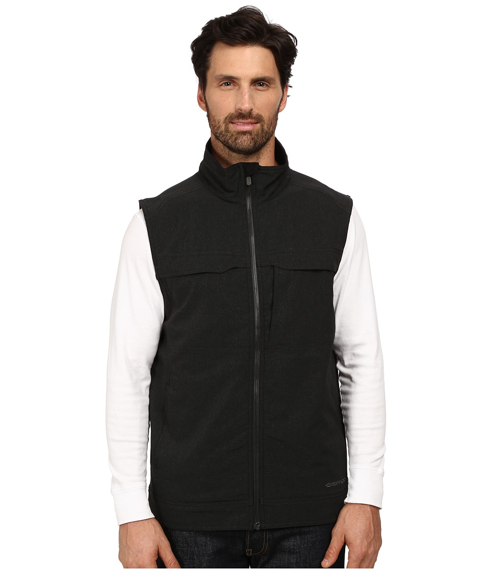 ExOfficio - Fastport Vest (Black Heather) Men's Vest