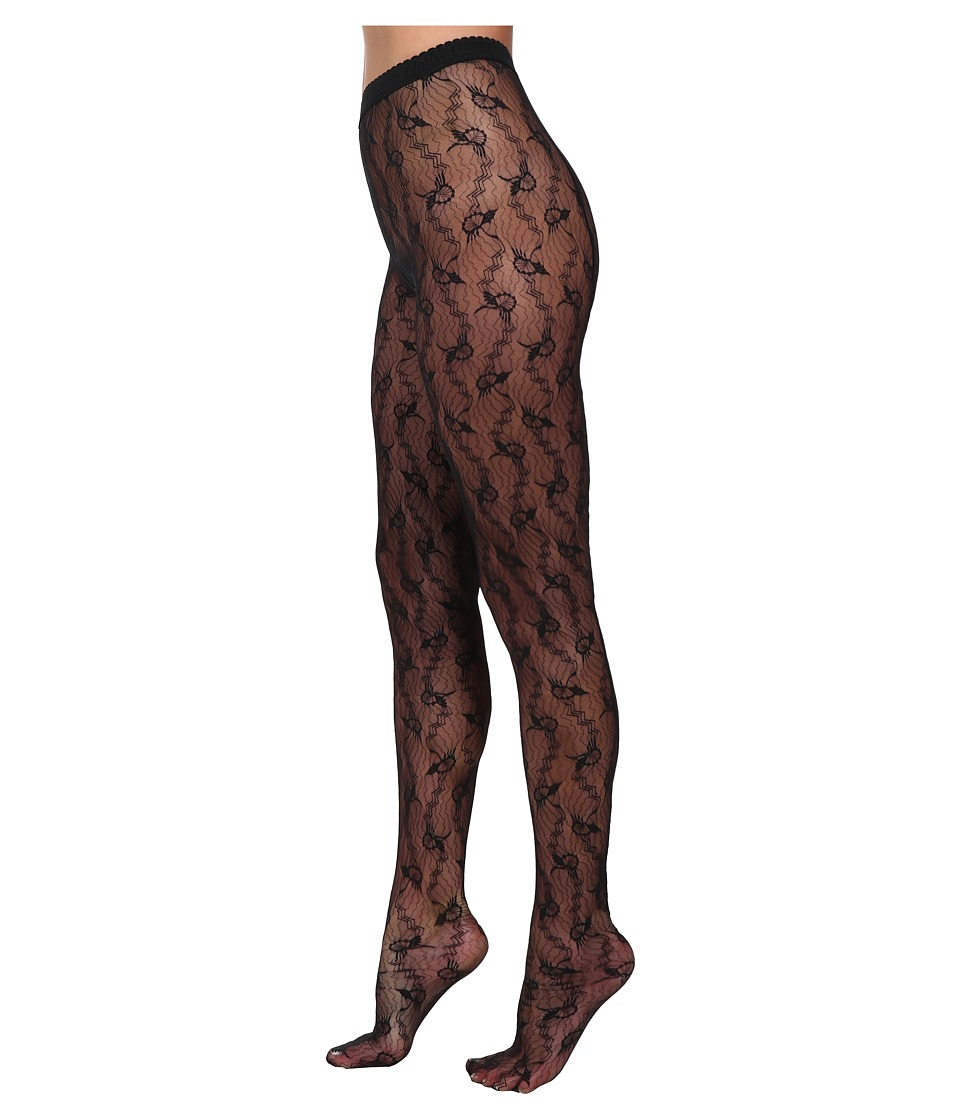 Wolford - Lilie Tights (Black) Hose