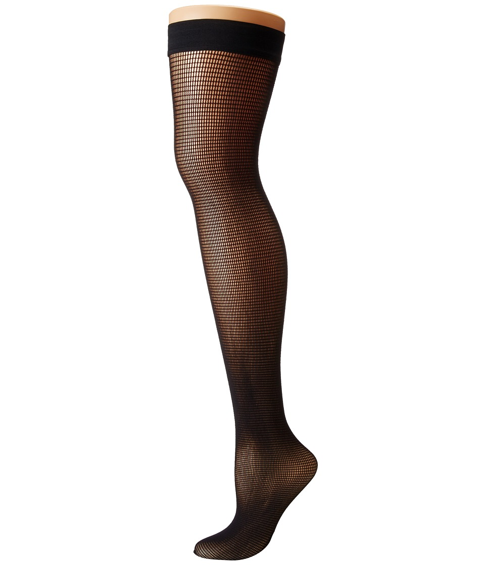 Wolford - Grid Stay-Up (Black) Hose