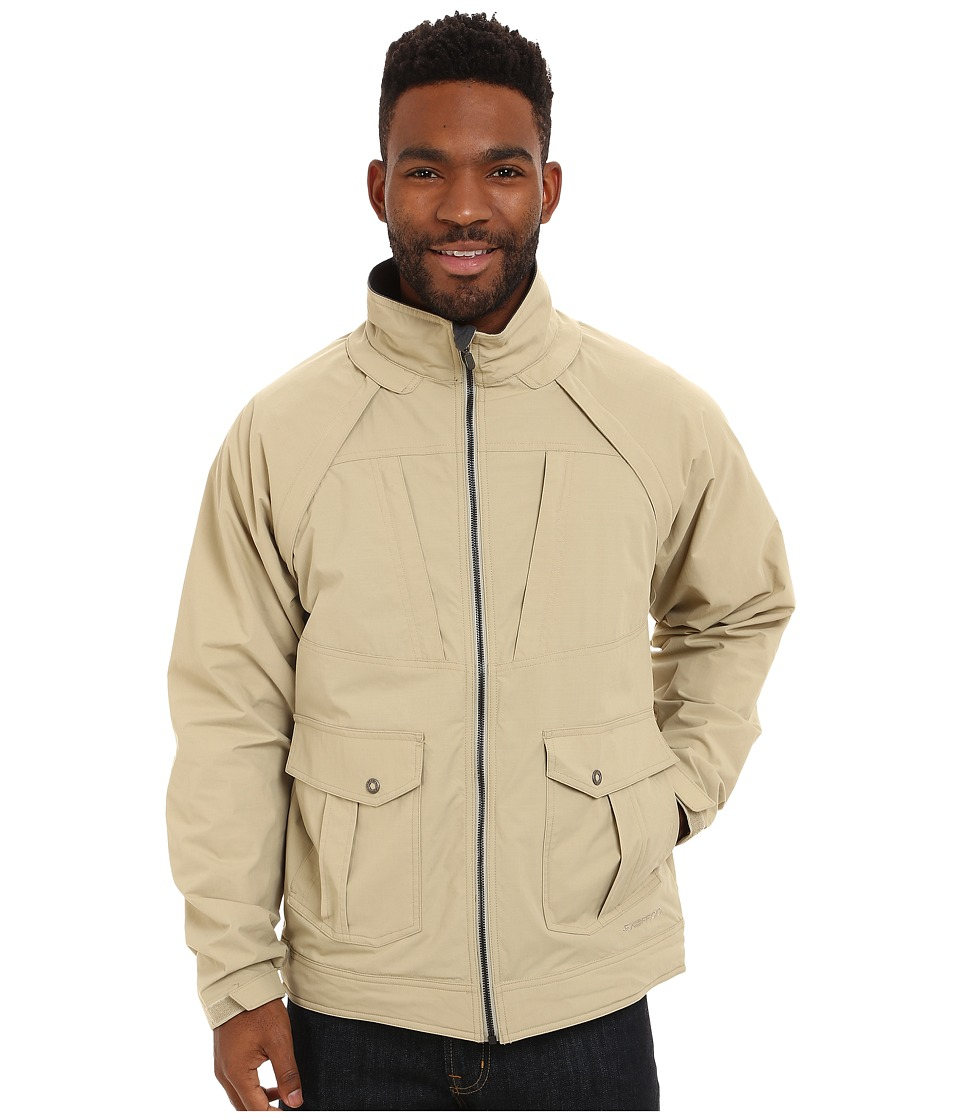 ExOfficio - Round Trip Convertible Jacket (Light Khaki) Men's Coat