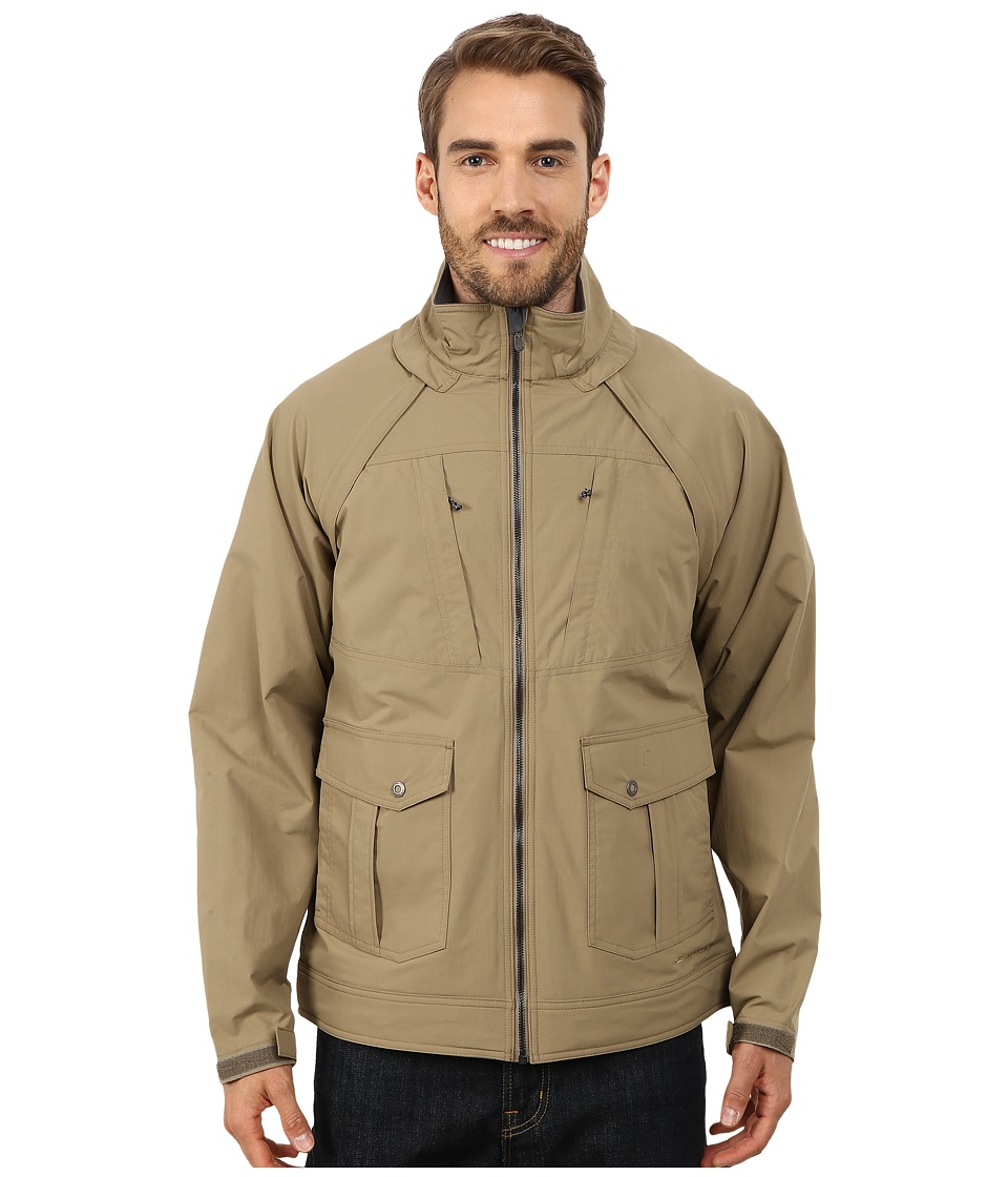 ExOfficio - Round Trip Convertible Jacket (Walnut) Men's Coat