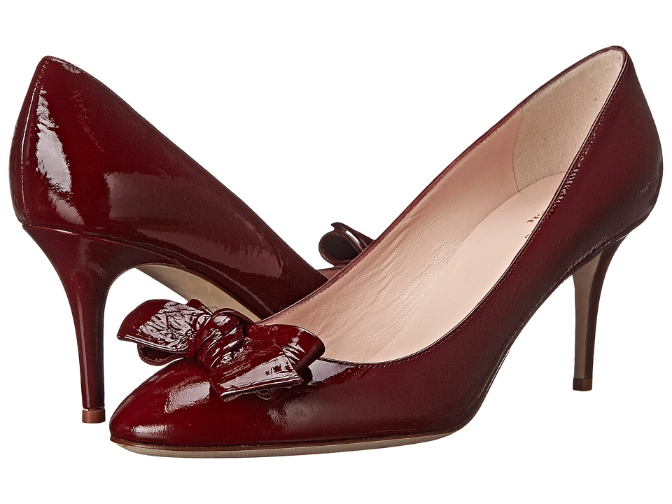 Kate Spade New York - Cristie (Wine Crinkle Patent) Women