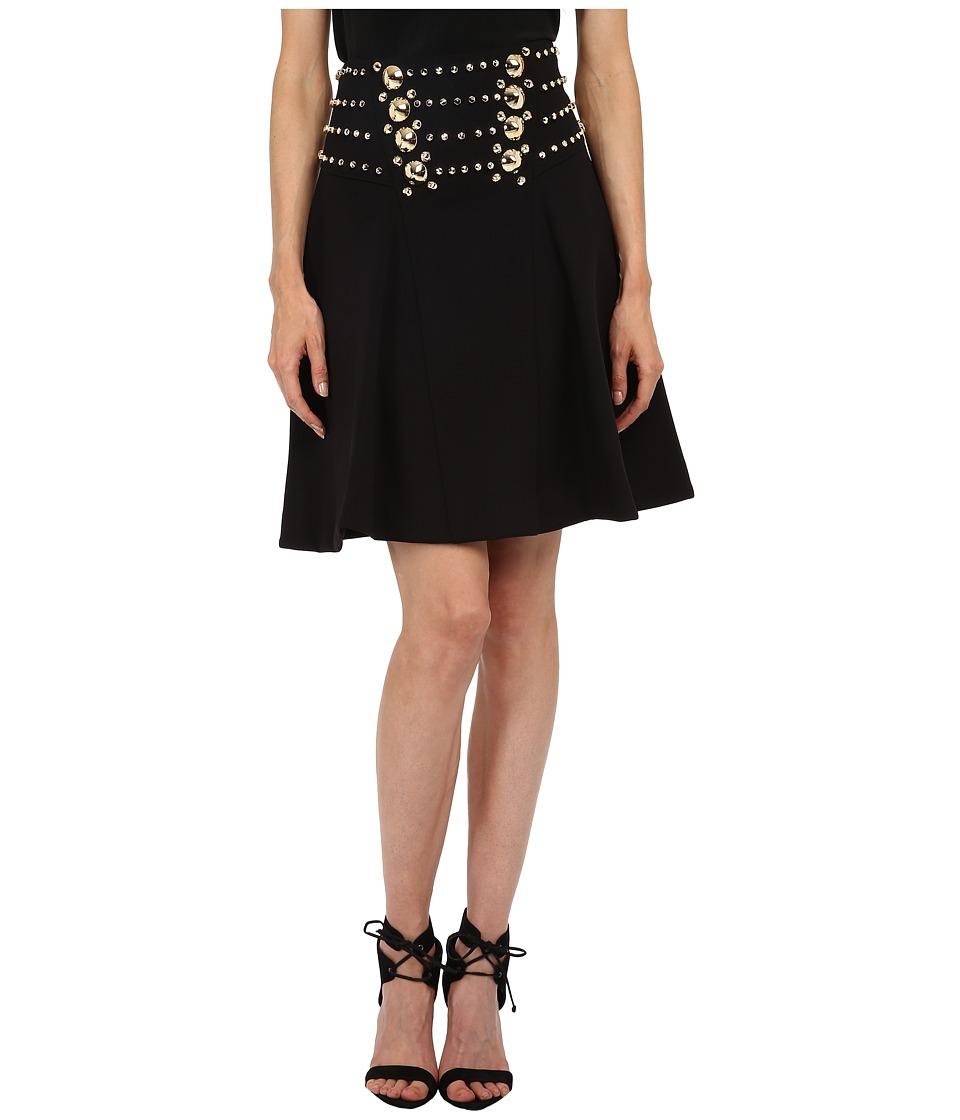 Versace Collection - Embellished Skirt (Nero) Women's Skirt