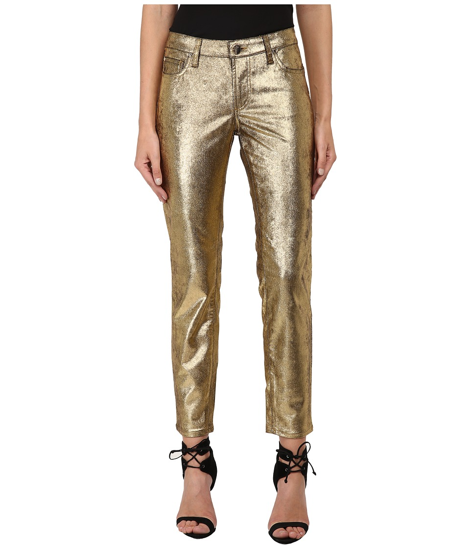 Versace Collection - Metallic Pants (Gold) Women's Casual Pants