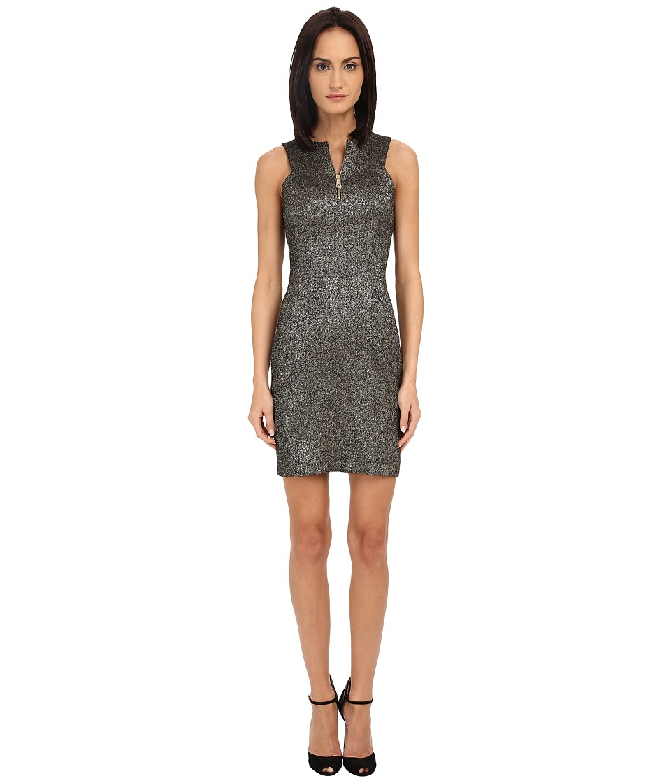 Versace Collection - Sleeveless Dress (Glitter) Women's Dress