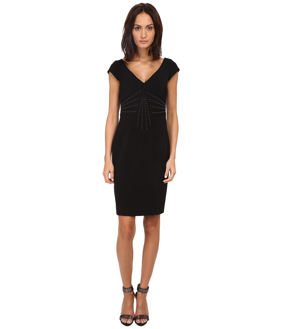Versace Collection - Sleeveless Dress (Nero) Women's Dress