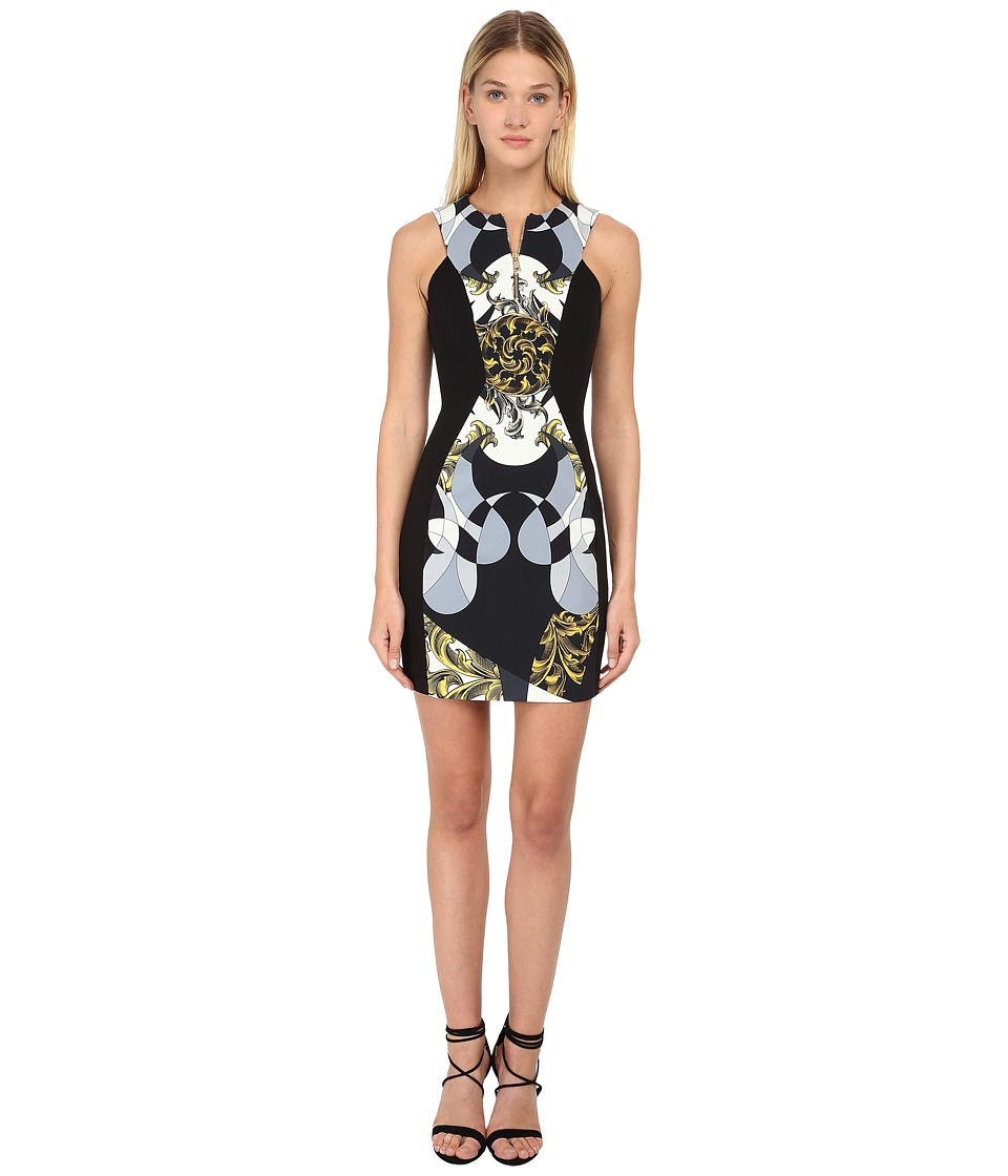 Versace Collection - Printed Sleeveless Dress (Multi) Women's Dress