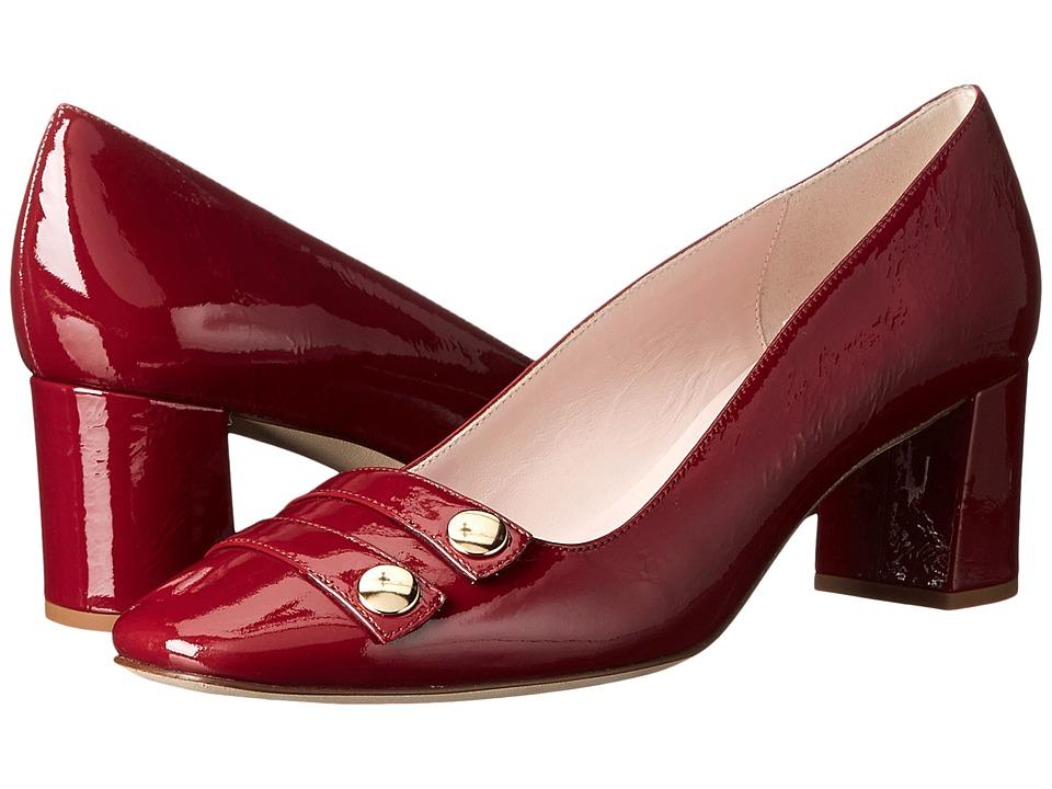 Kate Spade New York - Darsia (Russett Crinkle Patent) High Heels