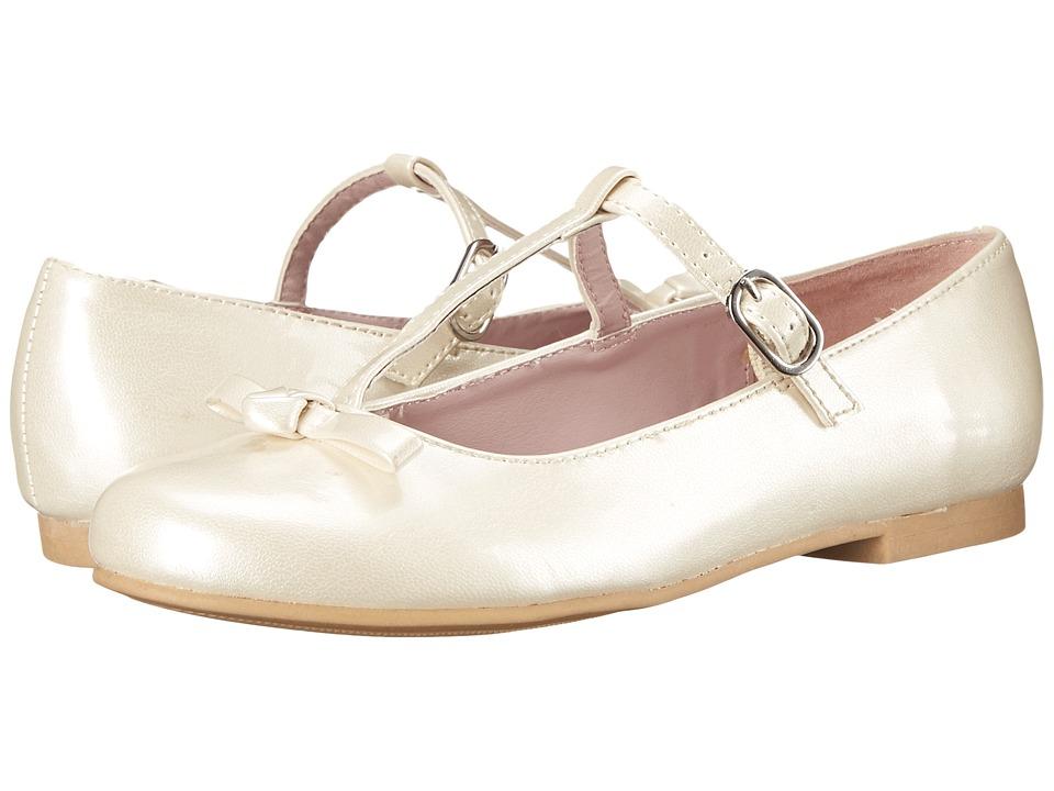 Nina Kids - Jami (Toddler/Little Kid/Big Kid) (Ivory Patent) Girl's Shoes