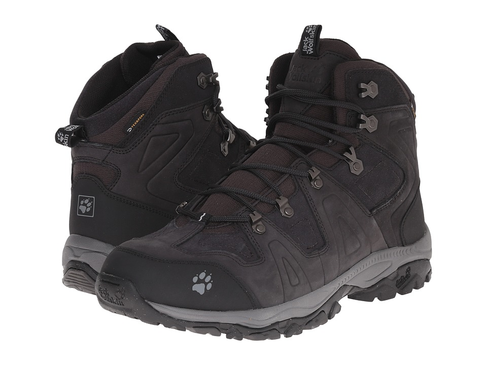 Jack Wolfskin - Monto Hike Mid Texapore (Phantom) Men's Hiking Boots