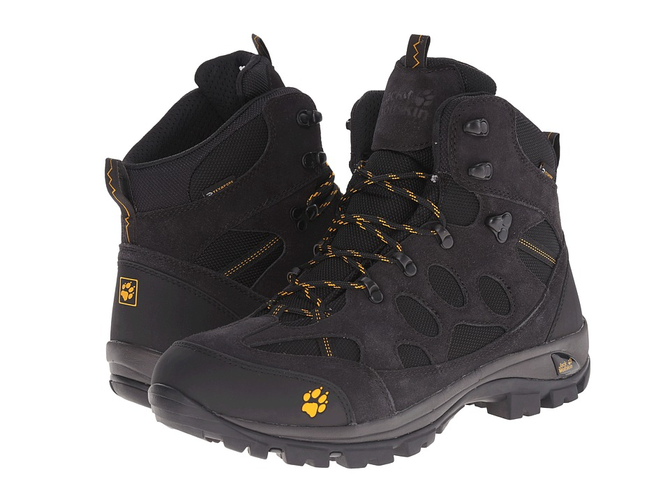 Jack Wolfskin - All Terrain 7 Texapore Mid (Phantom) Men's Shoes