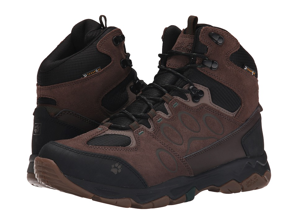 Jack Wolfskin - Mountain Attack 5 Texapore Mid (Dark Pine) Men's Shoes