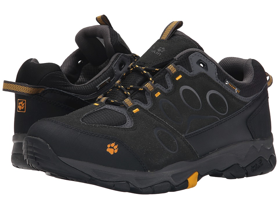 Jack Wolfskin - Mountain Attack 5 Texapore Low (Burly Yellow) Men's Shoes