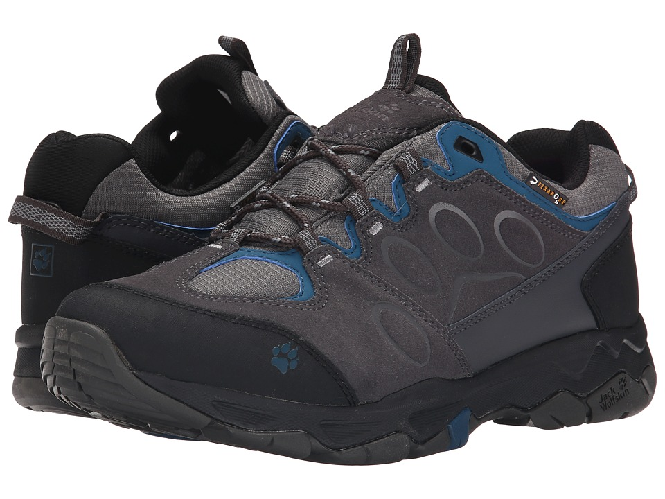 Jack Wolfskin - Mountain Attack 5 Texapore Low (Moroccan Blue) Men's Shoes