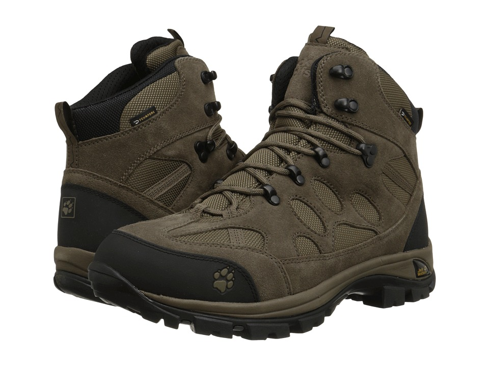 Jack Wolfskin - All Terrain 7 Texapore Mid (Siltstone) Men's Shoes